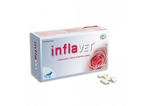 Inflavet Natural anti-inflammatory against inflammation 60 comproimidos