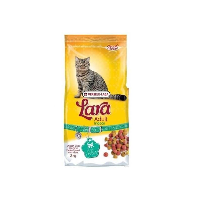 Alimento completo para gato INDOOR LARA VERSELE LAGA 2 k