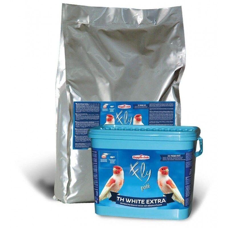 Pasta blanca seca TH WHITE EXTRA RAGGIO DI SOLE 12 kg