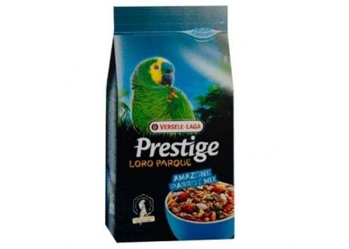 Versele Laga Prestige Premium Amazon Parrot Parrot Loro Park Mix 1kg (sementes mistas)