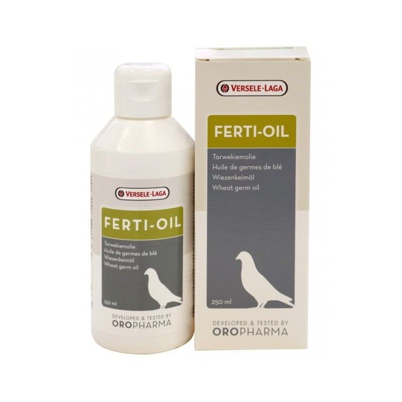 Aceite vitaminado para palomas FERTI OIL 250 ml