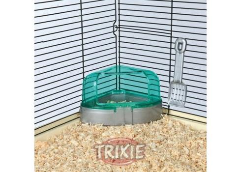 Tray+Shovel corner, Rodents, 14x8x11/11cm
