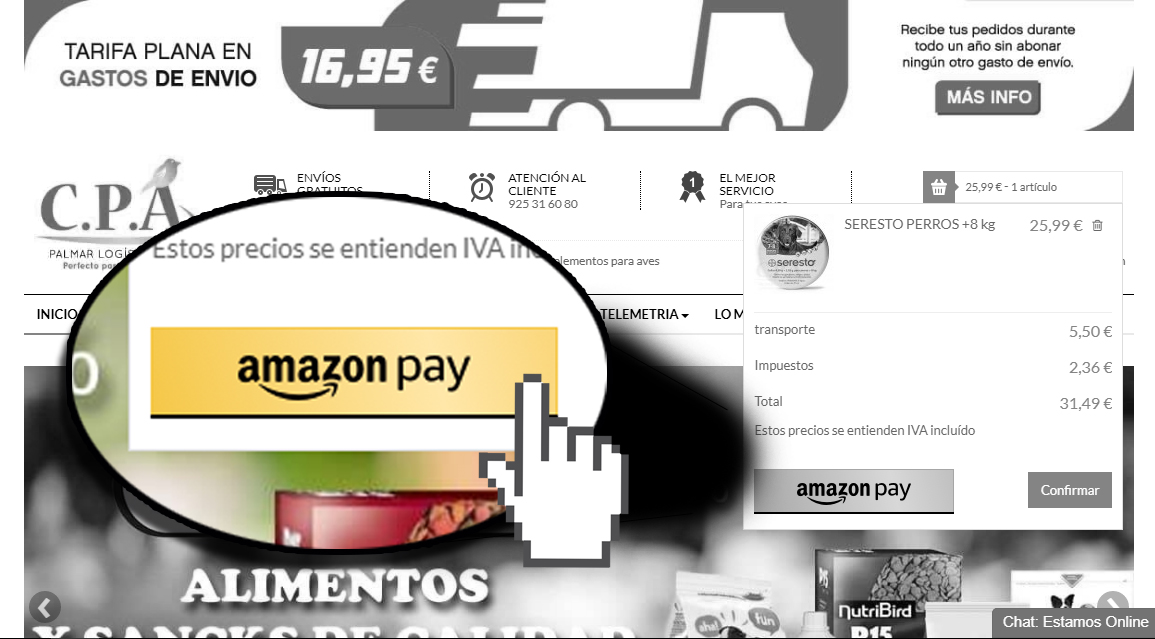 Amazon payer