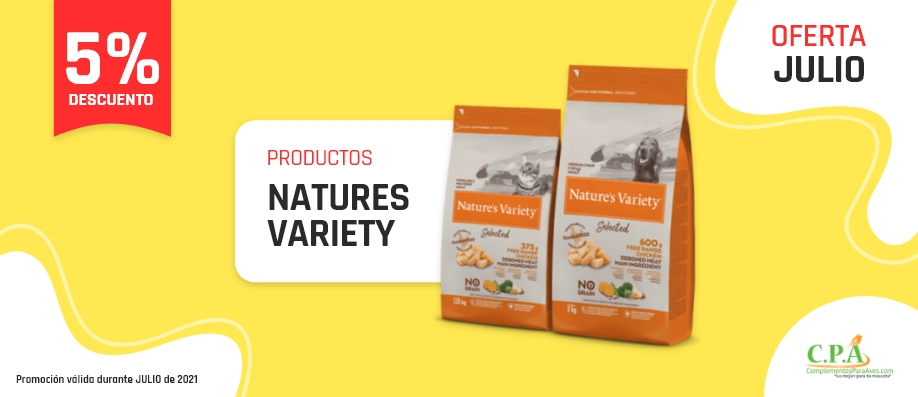 Ofertas Natures Variety
