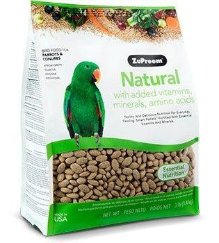 ZuPreem Natural Loros y Cotorras - ML 1,4kg