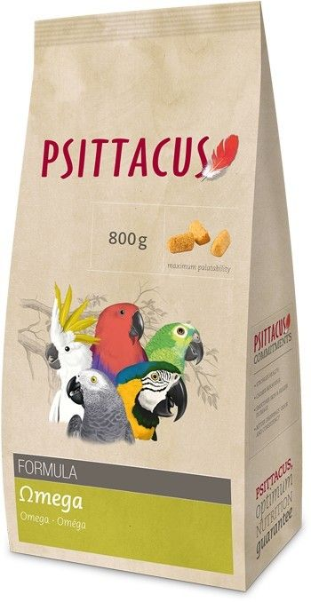PSITTACUS, PIENSO OMEGA 800 g