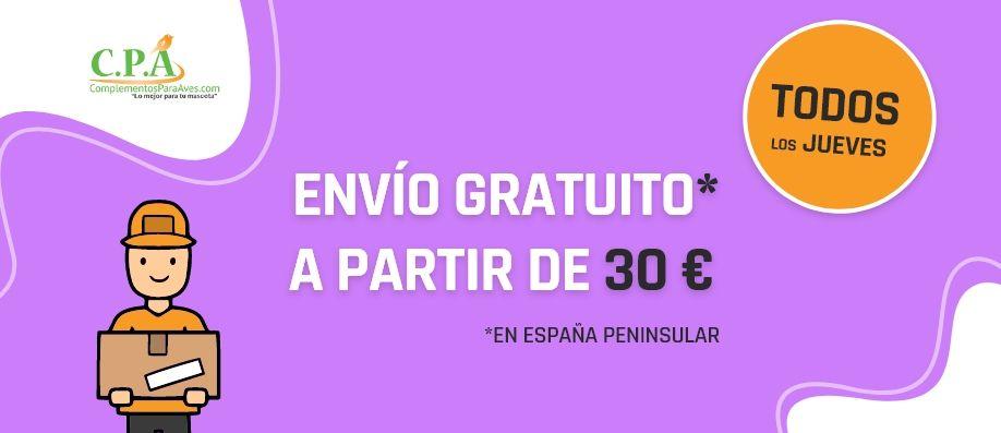 Envio gratis a partir de 30€